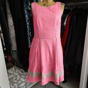 Jessica Simpson Lace Sleeveless Dress